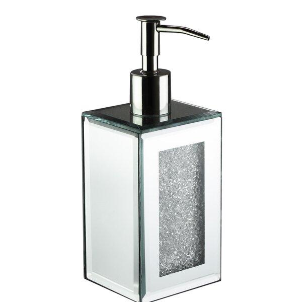Chagoya Mirror Crushed Lotion Dispenser by House of Hampton