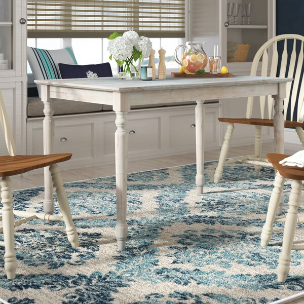 Port Clyde Dining Table by Beachcrest Home