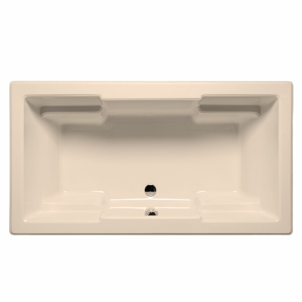 Laguna 72 x 42 Air/Whirlpool Bathtub by Malibu Home Inc.