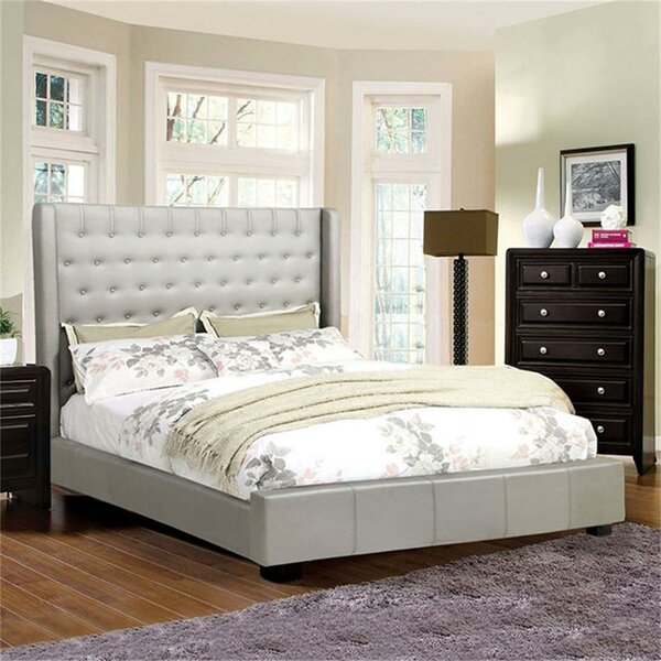 Waymire Upholstered Platform Bed by Canora Grey