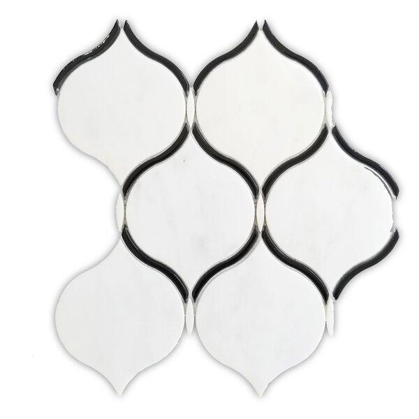 Coconut 10 x 11 Marble Mosaic Tile