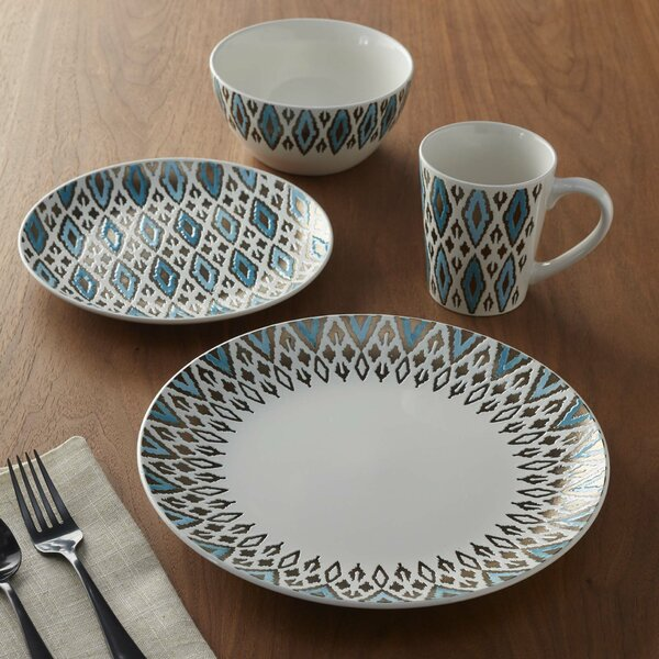 Paragon 16 Piece Dinnerware Set, Service for 4 by Brayden Studio