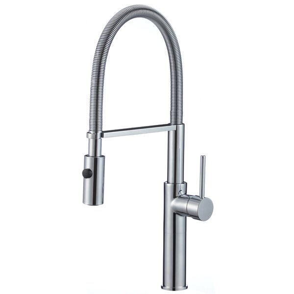 Bastion Series Pull Down Single Handle Kitchen Faucet by ANZZI
