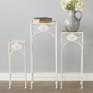 Fleuriel Square Nesting Plant Stand (Set of 3) Lark Manor