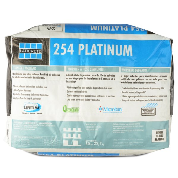 Platinum Multipurpose Mortar 50 Lb by Laticrete