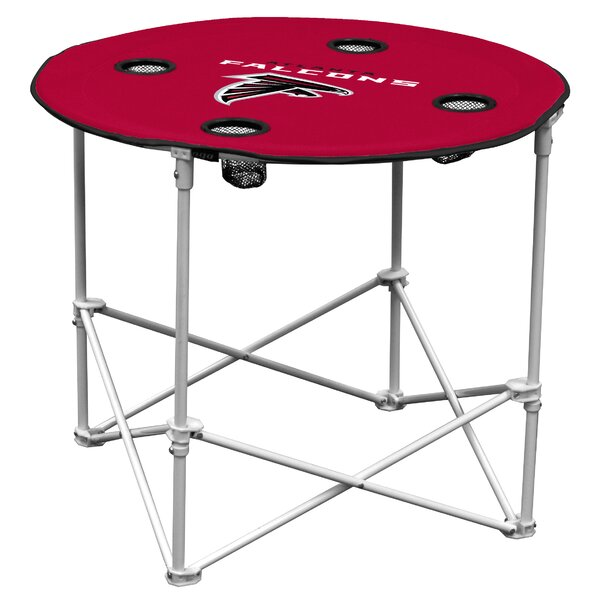 NFL 30 Circular Folding Table by Logo Brands