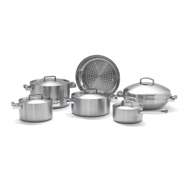 Neo 10-Piece Cookware Set by BergHOFF International