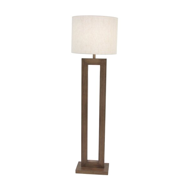 Sherry Modern Rectangular 64 Floor Lamp by Corrigan Studio