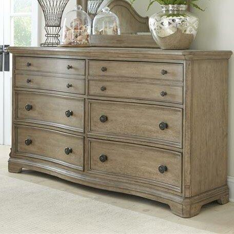 Paredes 6 Drawer Double Dresser by One Allium Way