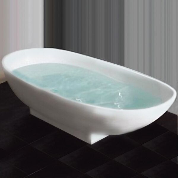 71 x 34 Freestanding Soaking Bathtub by Cambridge Plumbing