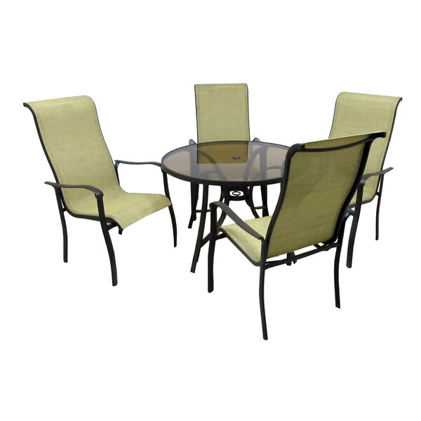 Marco 5 Piece Dining Set by Latitude Run