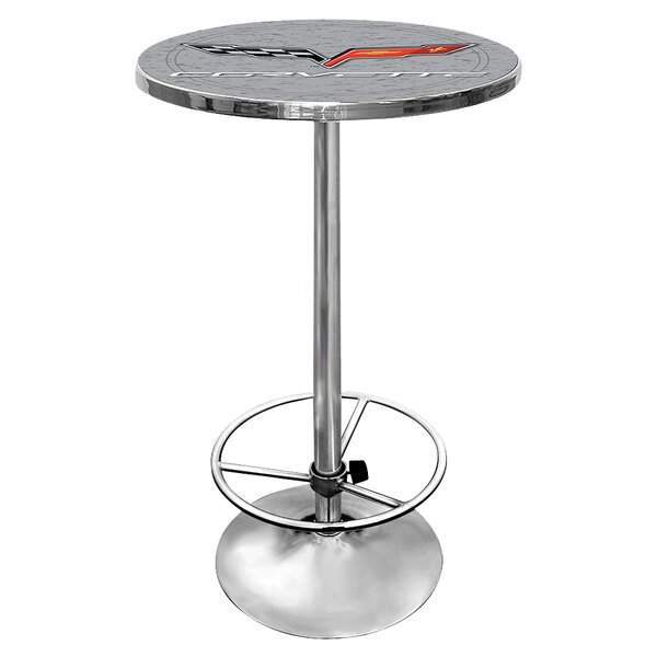 Corvette C6 Pub Table by Trademark Global