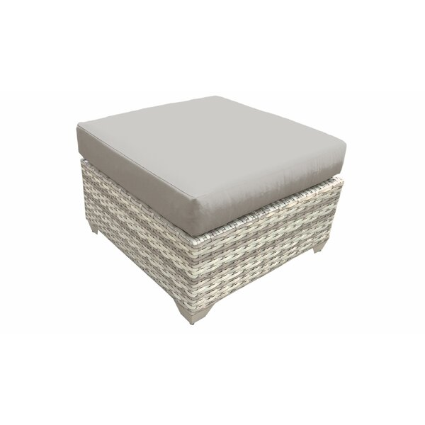 Waterbury Outdoor Ottoman with Cushion by Sol 72 Outdoor