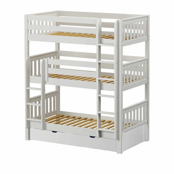 Boldt Twin over Twin Triple Bed with Trundle by Harriet Bee