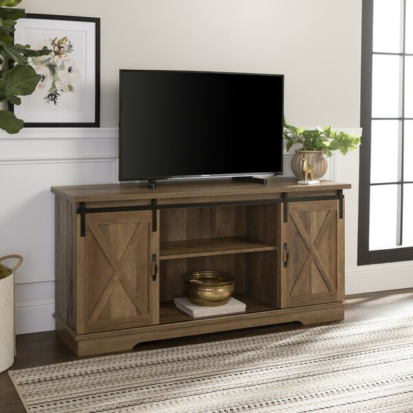 Reviews Kemble TV Stand for TVs up to 64 by Three Posts