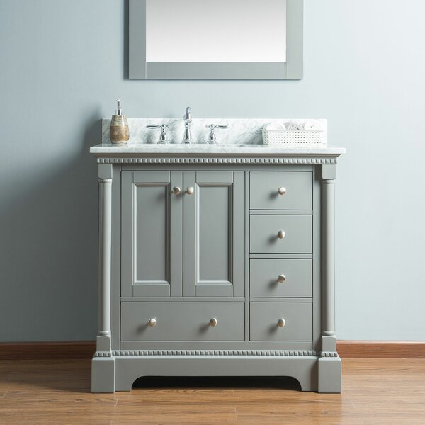 Rayleigh 36 Single Bathroom Vanity Set by Charlton Home
