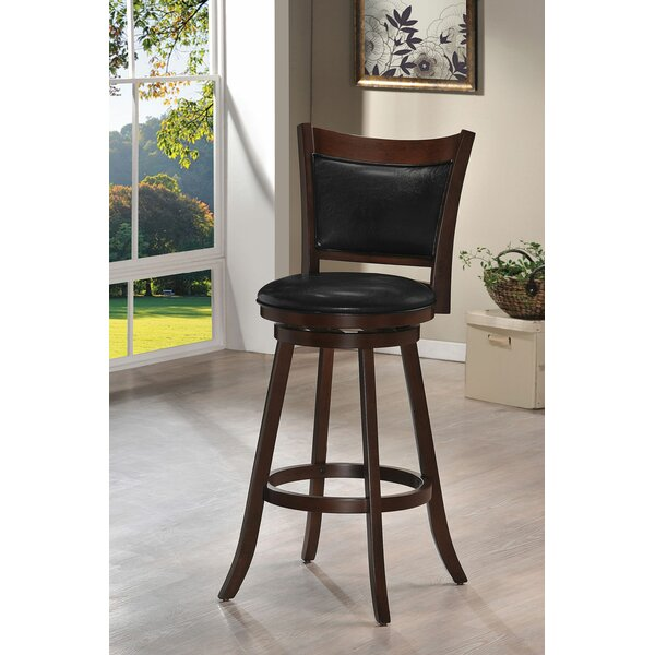 Spain 29 Swivel Bar Stool by Loon Peak