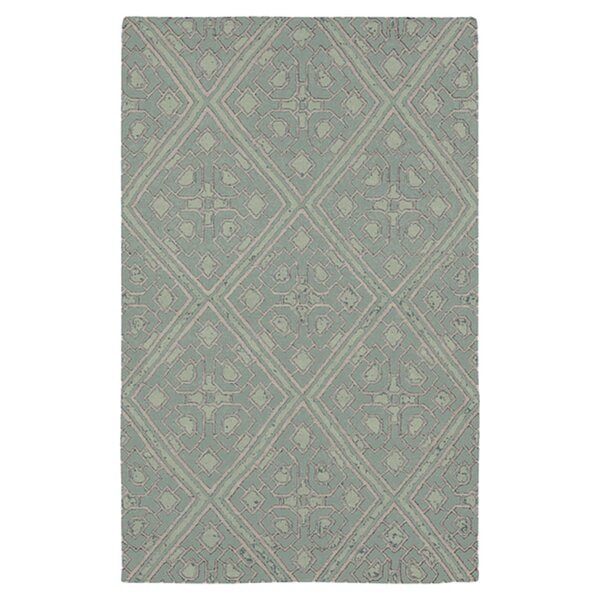 Alameda Hand woven Blue Haze Area Rug by Beth Lacefield