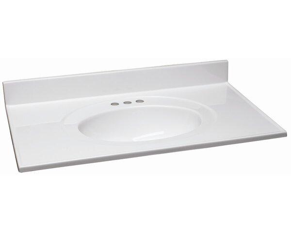 Steubenville 37 Single Bathroom Vanity Top by Andover Mills