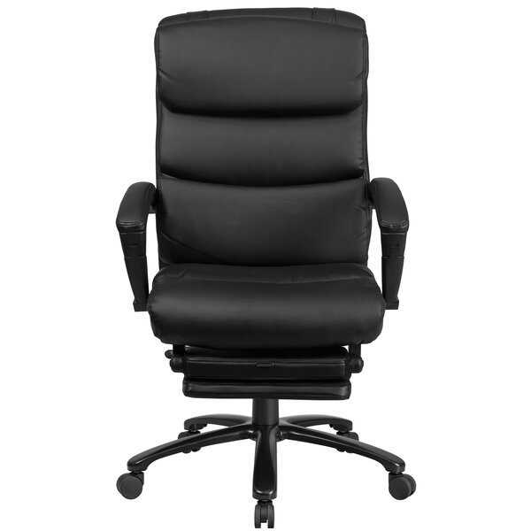 Yerby Reclining Swivel Office High-Back Executive Chair by Symple Stuff