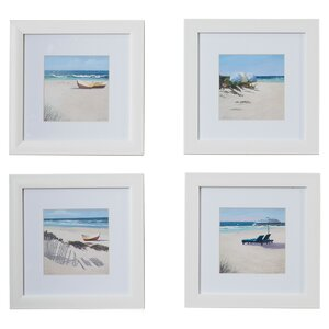 Umbrella Framed 4 Piece Photo Graphic Print Set on Paper (Set of 4) by Beachcrest Home