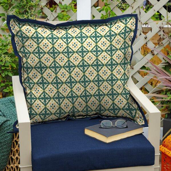 Ayles Moroccan Tile Indoor/Outdoor Throw Pillow