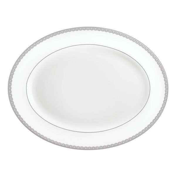 Lismore Lace Oval Platter by Waterford