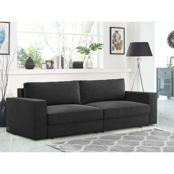 Queen 96 Cushion Back Convertible Sofa