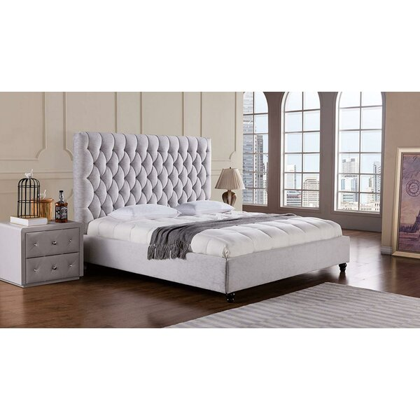 Lam Upholstered Platform Bed by Rosdorf Park