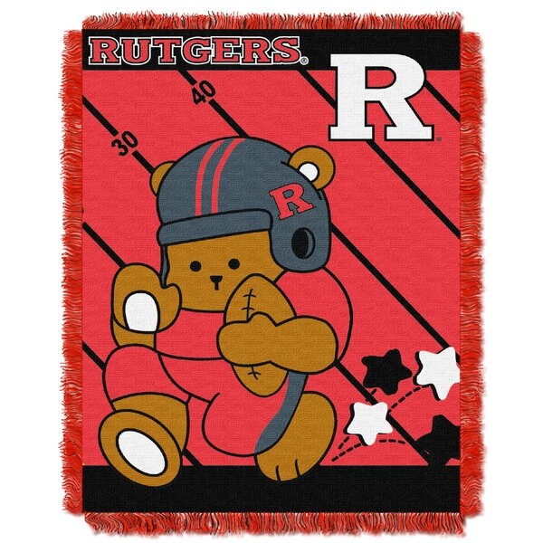 Collegiate Rutgers Baby Blanket by Northwest Co.