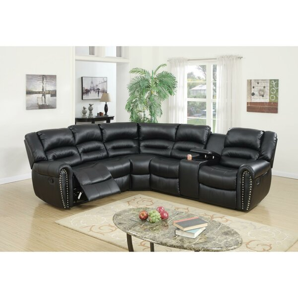 Eisenman 3 Piece Reclining Sectional Set By Red Barrel Studio Spacial Price