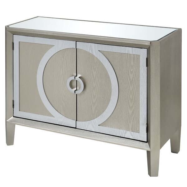 Hickman 2 Door Accent Cabinet by House of Hampton House of Hampton