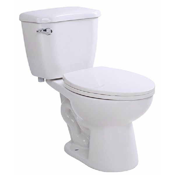 Author 1.28 GPF (Water Efficient) Elongated Two-Piece Toilet (Seat Included) by ANZZI
