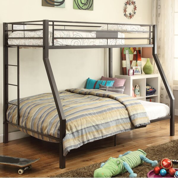 Odis Twin Over Full Bunk Bed by Harriet Bee