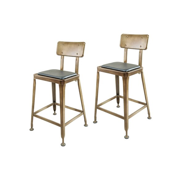 Francille Counter & Bar Stool (Set of 2) by 17 Stories 17 Stories