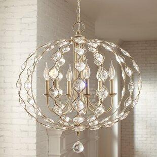 Coastal chandeliers youll love wayfair madsen globe chandelier mozeypictures Images