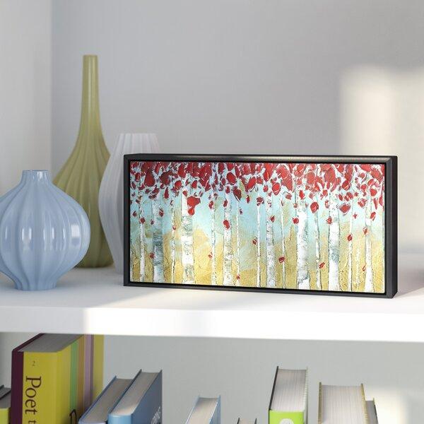 Birch Framed Painting Print by Latitude Run