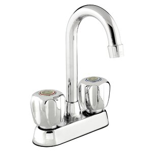 Keeney Manufacturing Company B?langer Double Handle Standard Kitchen Faucet