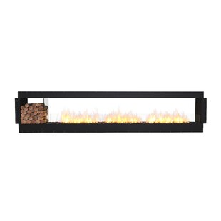 FLEX140 Double Sided Wall Mounted Bio-Ethanol Fireplace Insert By EcoSmart Fire