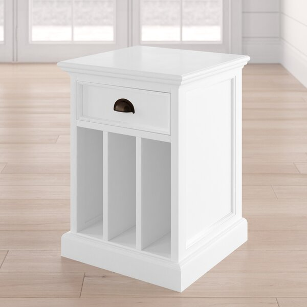 Amityville 1 Drawer Nightstand by Beachcrest Home