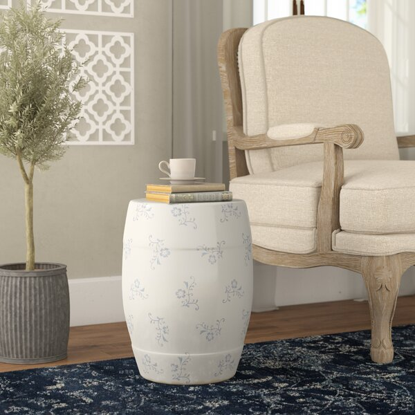 Aime Ceramic Garden Stool by Ophelia & Co. Ophelia & Co.