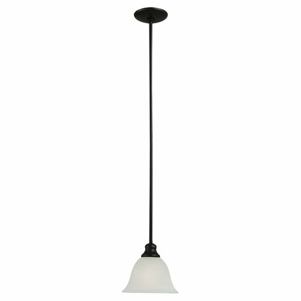 Hartford 1-Light Cone Pendant by Charlton Home