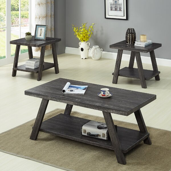 Filipek 3 Piece Coffee Table Set By Winston Porter