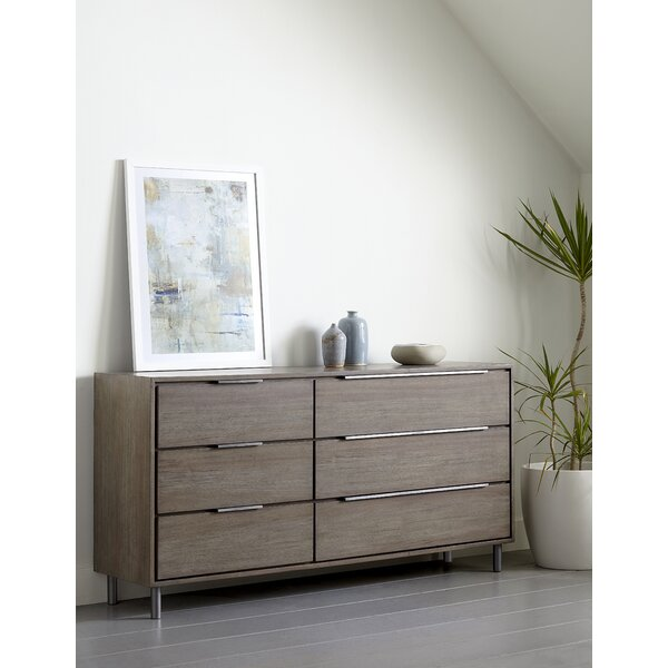 McKaylah 6 Drawer Dresser by Wrought Studio