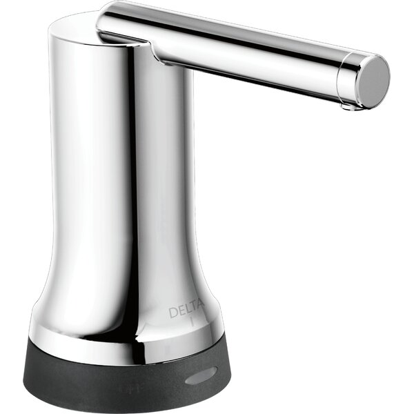 Trinsic® Bathroom Contemporary Touch Soap Dispenser by Delta