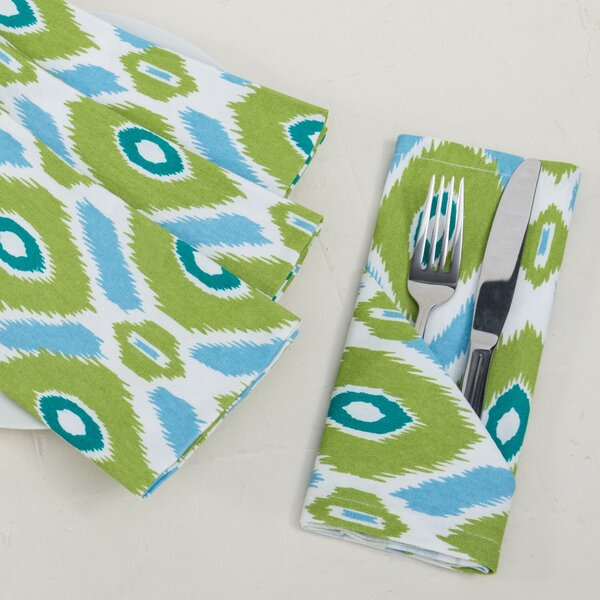 Ikat Napkin (Set of 4) by Linen Tablecloth