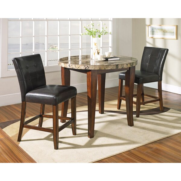 Laverty 3 Piece Counter Height Pub Table Set by Millwood Pines