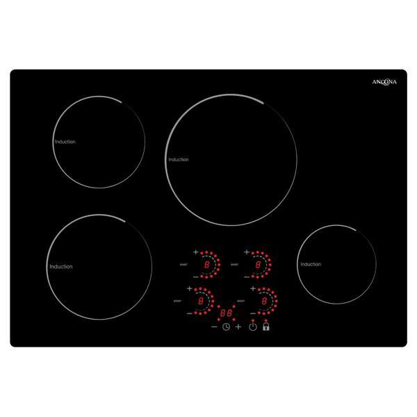 30 Induction Cooktop with 4 Burners by Ancona