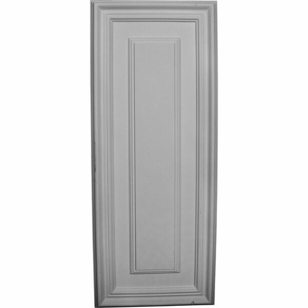 Legacy 8 5/8H x 21 5/8W x 5/8D Wall/Door Panel by Ekena Millwork