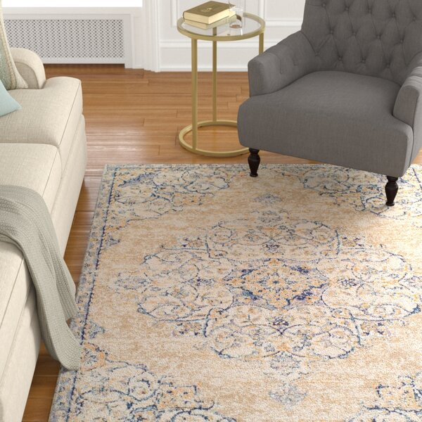 Linslade Pebble Beige Area Rug by Astoria Grand